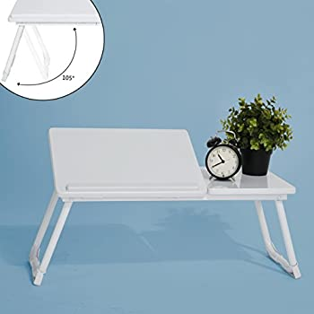 Coavas Portable Folding Laptop Desk Table Stand, Computer Laptop Stand,Bed  Tray, Notebook