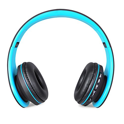 JINCHAO Wireless Auricolari Cuffie Bluetooth 4.0 Stereo Headphones Cuffia  Auricolare con Mic MP3 Player MicroSD   TF per iPhone 6 5s a895a247e4ab