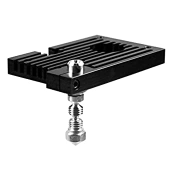 Micro Swiss M2561-04 All Métal Hotend Kit avec Slotted Cooling Block pour Wanhao i3 inclusion 0.4 mm Nozzle
