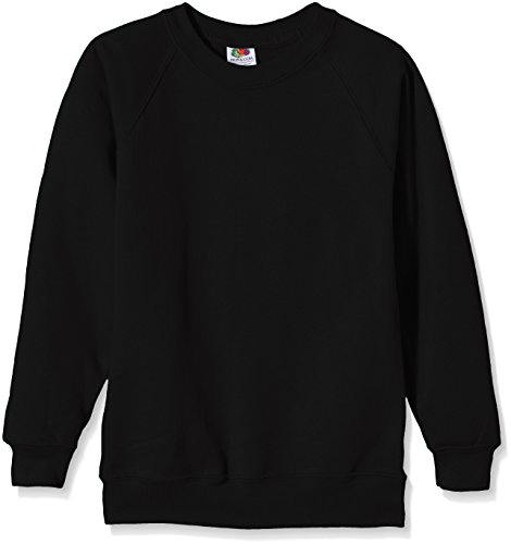 fruit-of-the-loom-ss024b-sweat-shirt-garcon-noir-12-13-years-taille-fabricant-152cm-34