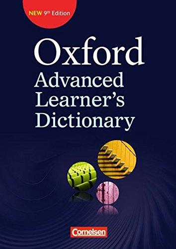Oxford Advanced Learner's Dictionary - 9th Edition: B2-C2 - Wörterbuch (Kartoniert): Ohne...