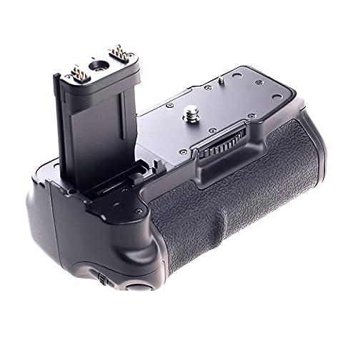Yeeteem BG-1B Batterie Grip Poignée d'alimentation pour Caméra DSLR Canon
