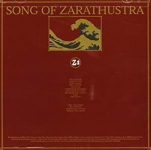 Song Of Zarathustra - Song Of Zarathustra