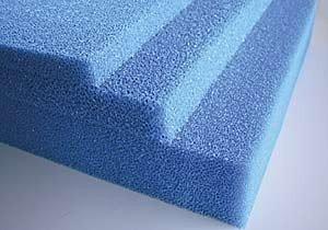 Filterschaum blau 100x100x5cm fein 30PPI