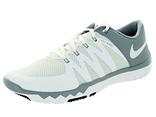 Nike Free Trainer 5.0 V6 (719922-110) WHITE/WHITE-DOVE GREY-PR P