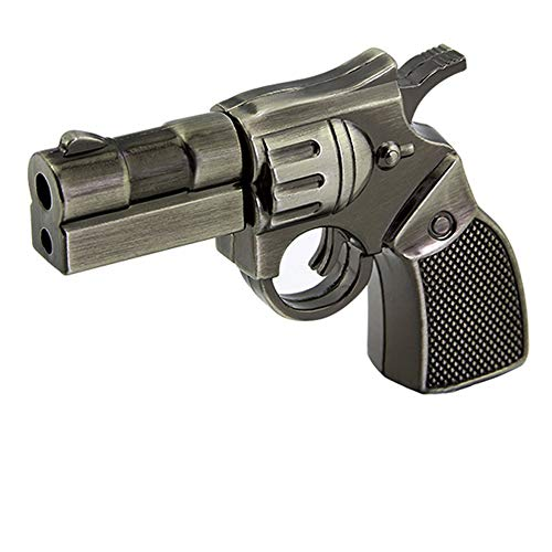 LIKE SHOW USB-Stick 16/32/64 GB USB 2.0 mit einzigartigem Metall-Revolver-Pistolen-Design 32 GB -