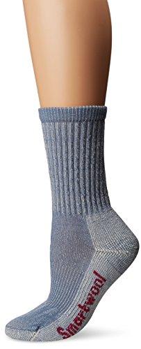 Smartwool Damen Hike Light Crew Socks, Blau (Blue Steel), S -