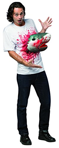 Sharknado Adult Costume Shark T-Shirt One Size Fits Most