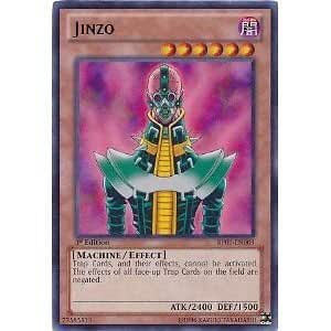 Yu Gi Oh! Single Card:BP01-EN003 Jinzo(Rare) [Toy]