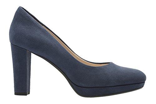 Clarks Kendra Sienna, Escarpins Femme Bleu