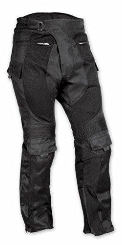 A-pro pantaloni rinforzati da motociclista, ce, impermeabili, in tessuto mesh, da uomo, 36