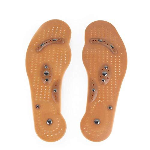 Masaje Unisex Magnética Plantilla del Zapato del Cuidado De Pie del Zapato Acupresión Que Adelgaza El Gel De Terapia Médica Salud Plantillas De Silicona Plantillas para Calzado