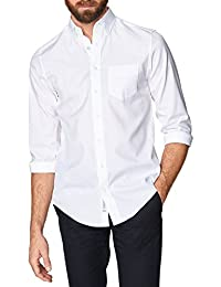 Gant Mens Pinpoint Oxford Shirt In White