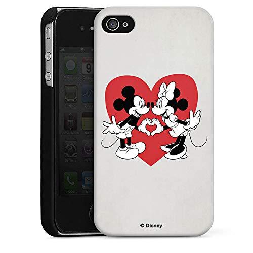 Hülle kompatibel mit Apple iPhone 4 Handyhülle Case Disney Mickey Mouse Minnie Mouse