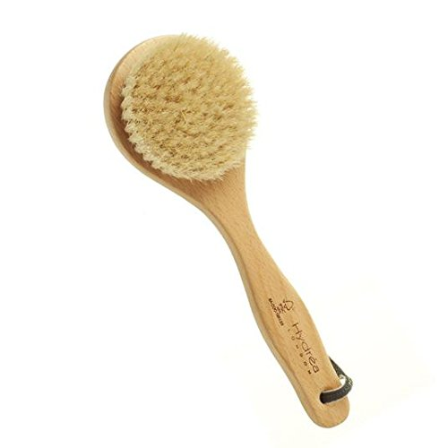 Hydrea London Classic Short Handle Body Brush with Natural Bristle