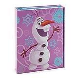 Disney Journal dépliant Olaf de La Reine des neiges