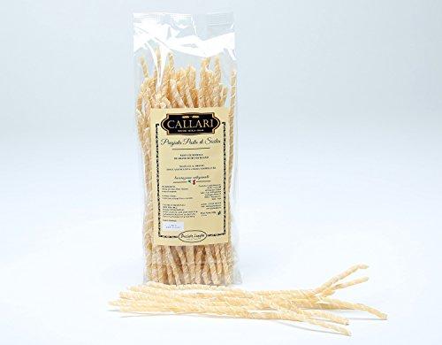 Hausgemachte Pasta aus Hartweizengrieß - Busiate Lunghe 500 gr. - Pasta Callari