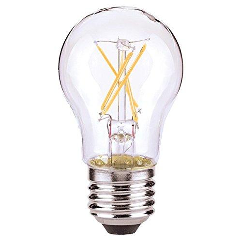 Satco 08615-4.5A15/CL/LED/E26/27K/ES/120V S8615 A15 eine Linie Birne LED Glühbirne (Led-a15-glühbirnen)
