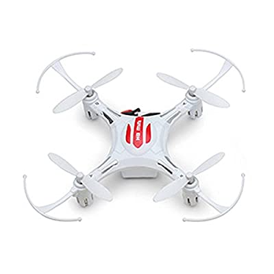 SODIAL(R) H8 4CH 2.4G 6 Axis Mini RC Remote Control Quadcopter LED Light RTF color/mode:White Mode2 from SODIAL(R)