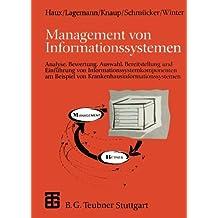 Management von Informationssystemen. (XLeitfäden der Informatik)