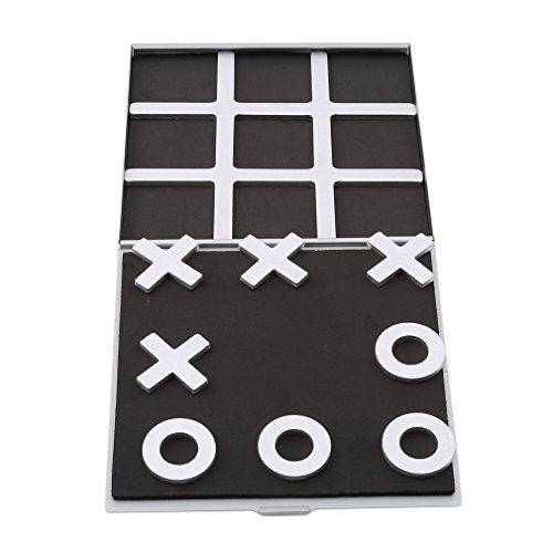 L_shop Tic TAC Toe Spiel Schach Klassischer Spielspaß Strategiespiel Denkspiel Frühen Lernen Geschenk für Jungen
