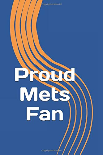 Proud Mets Fan: A sports themed unofficial MLB notebook journal for your everyday needs
