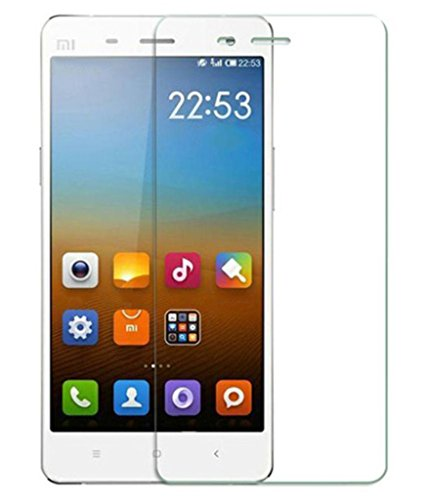 2.5D Curve Tempered Glass Micromax Canvas A104 Fire 2 Screen Protector | Micromax Canvas A104 Fire 2 Screen Guard Crystal Clear Anti Bubble Shatter Proof  available at amazon for Rs.125