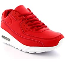 b11b2285a Hombre Moda Burbuja De Aire Sport Caminando Corriendo Zapatos Ligero  Entrenadores