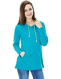 bearsland de esquí para mujer deportivo sudadera con capucha de lactancia camiseta para lactancia