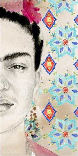 Lienzo 50 x 100 cm: Frida I Jennifer Parker/World