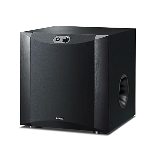 41WDn8ZX8aL. SS500  - Yamaha NSSW300 Powered Subwoofer - Piano Black