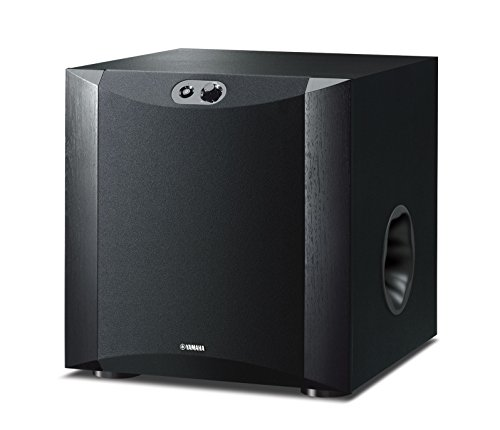 Yamaha NS-SW300 Subwoofer Advanced YST II, Twisted Flare Port, Nero