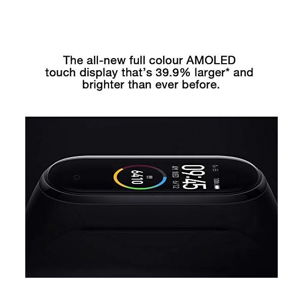 Xiaomi Smart Band 4, Adultos Unisex, Negro, Talla única 3