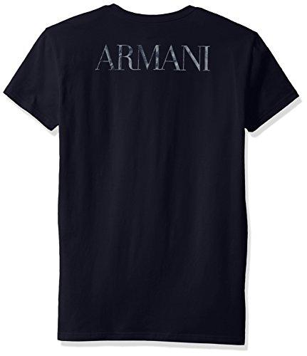 Emporio Armani Herren T-Shirt Marine