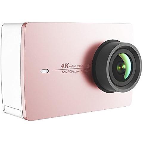 YI 4K Cámara Deportiva Original 4K Cámara Acuatica Full HD 1080P 12MP con Sensor SONY Videocámara(2.19