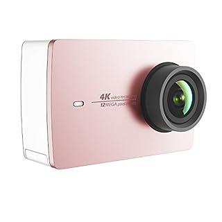 YI 4K Action Camera 2, Videocamera Action Cam HD 4K / 30 fps, 1080p / 120 fps, Fotocamera Digitale 12 MP, Wifi, Garanzia Italia, Rosa Oro (B01IEXYAHS) | Amazon price tracker / tracking, Amazon price history charts, Amazon price watches, Amazon price drop alerts