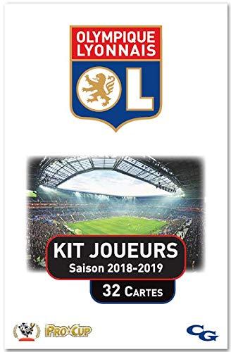 Procup - Kit Joueurs Football Olympique Lyonnais 2018-2019