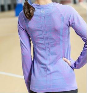 Vêtements dames Sport Top Yoga Purple