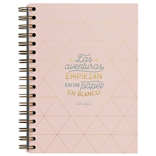 Libreta Mr. Wonderful: Las aventuras empiezan en un papel en blanco.