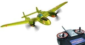 AirAce 3 AA3011  - P-38 Viper incluyendo la batería Li-Po importado de Alemania