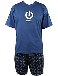 Pyjashort Geek en coton Achile