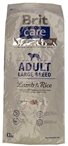 Brit Care Adult Large Breed Lamb & Rice Super-Premium Hundefutter, 12 kg -