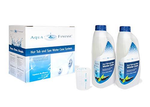 POWERHAUS24 AquaFinesse Whirlpool Wasserpflege-Set Alles-in-Einem-18 x Chlor Reinigungstabletten
