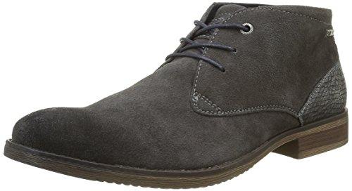 Tom Tailor 1680903, Desert Boots Homme Gris (Tar)