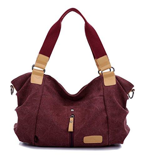 Leinwand neuer Stil Damen Handtaschen, Hobo-Bags, Schultertaschen, Beutel, Beuteltaschen, Trend-Bags, Velours, Veloursleder, Wildleder, Tasche Schwarz 1 Keshi