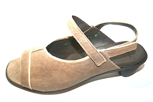 Think! 86552 Damen Sandalen, Damen Schuhe, (Ohne Karton) Beige