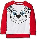 Nickelodeon Jungen Sweatshirt PAW Patrol real Ears, Rot (Red 19-1763TC), 5 Jahre