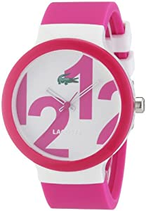 Reloj Lacoste 2020010 de cuarzo unisex con correa de silicona, color multicolor de Lacoste