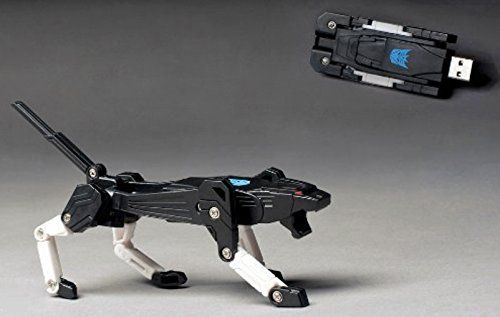 PRIMI 16GB Mini Transformers Simulation Roboter Hund USB Flash Memory Drive