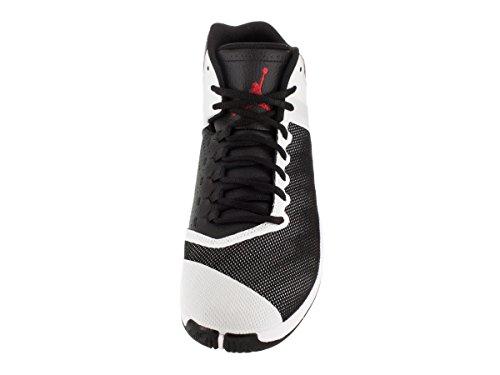 Nike Jordan Super.Fly 4 Po, Chaussures de Sport-Basketball Homme, Taille Unique Multicolore - Negro / Rojo / Blanco (Black / Gym Red-White-Infrrd 23)